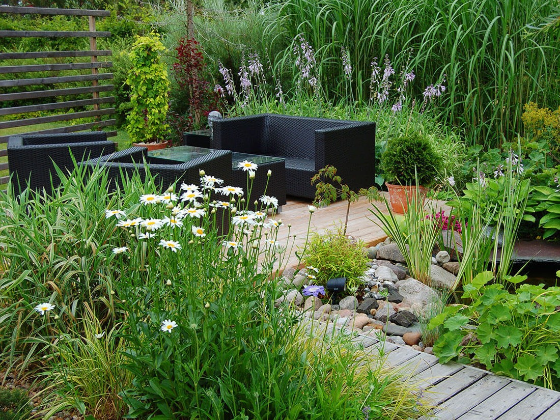 Plant Professionals garden and outdoor spaces for leisure.