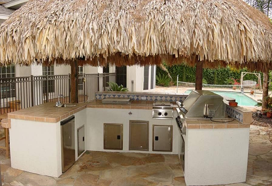 Get a tiki of your own for your outdoor living space from Plant Professionals.