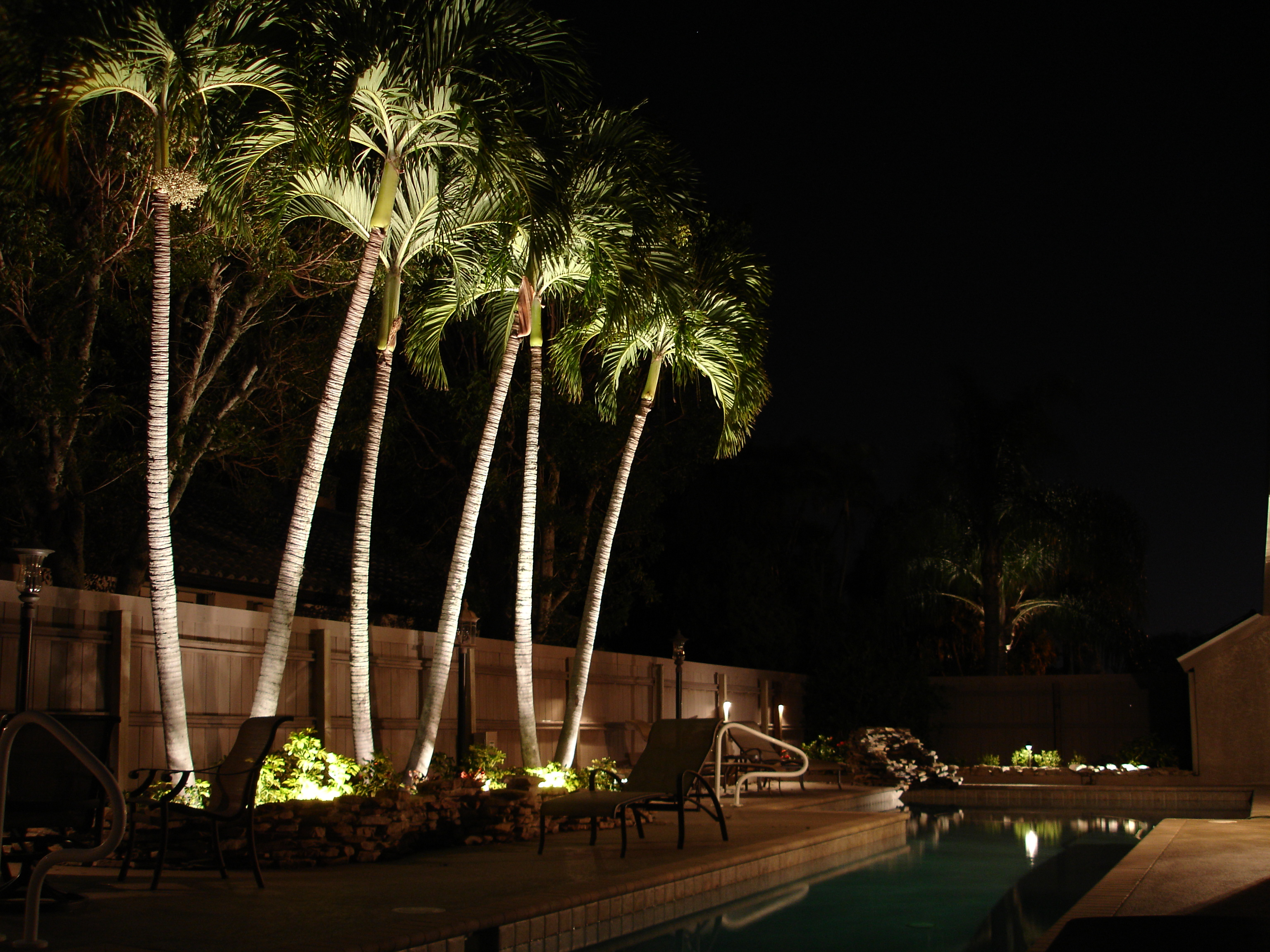 light up the night with outdoor lighting ananda landscapes