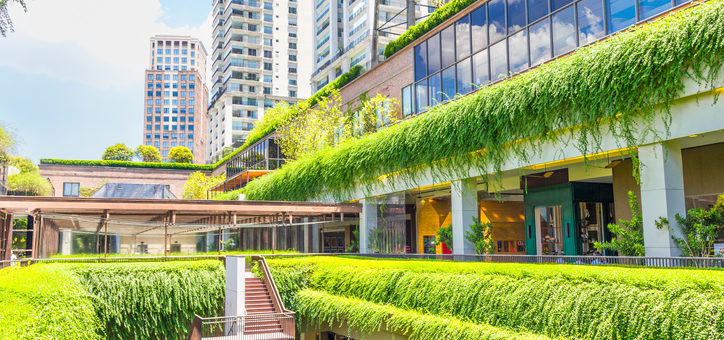 Commercial benefits of sustainable landscape design for Sustainable landscape design