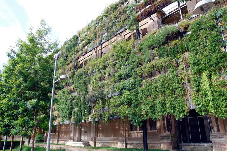 sustainable commercial landscape design