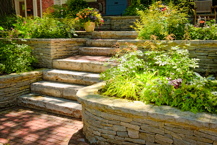 Modernize Your Landscape - Flagstone Pathway